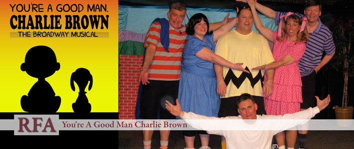 You're a Good Man Charlie Brown - Rangeley Friends of the Arts