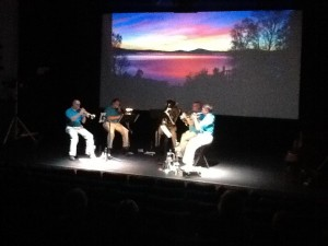 Downeast brass at theater